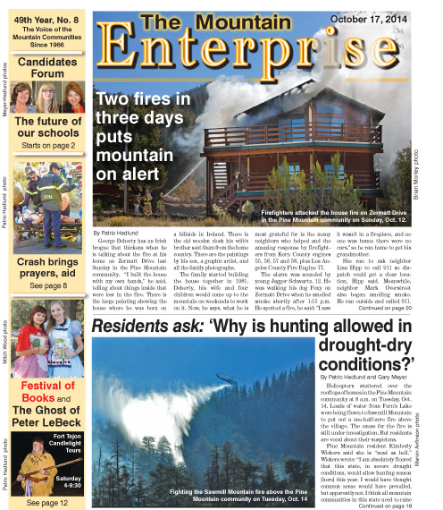 The Mountain Enterprise October 17, 2014 Edition