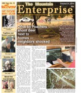 The Mountain Enterprise October 31, 2014 Edition