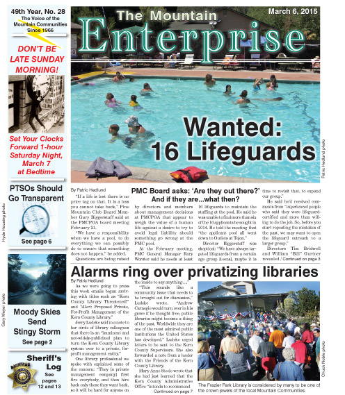 The Mountain Enterprise March 6, 2015 Edition