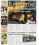 The Mountain Enterprise March 13, 2015 Edition