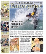 The Mountain Enterprise March 20, 2015 Edition