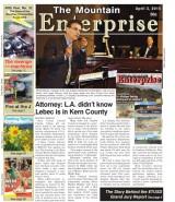 The Mountain Enterprise April 3, 2015 Edition