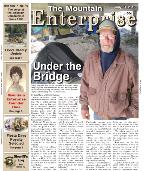 The Mountain Enterprise July 31, 2015 Edition