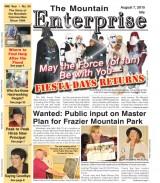 The Mountain Enterprise August 7, 2015 Edition