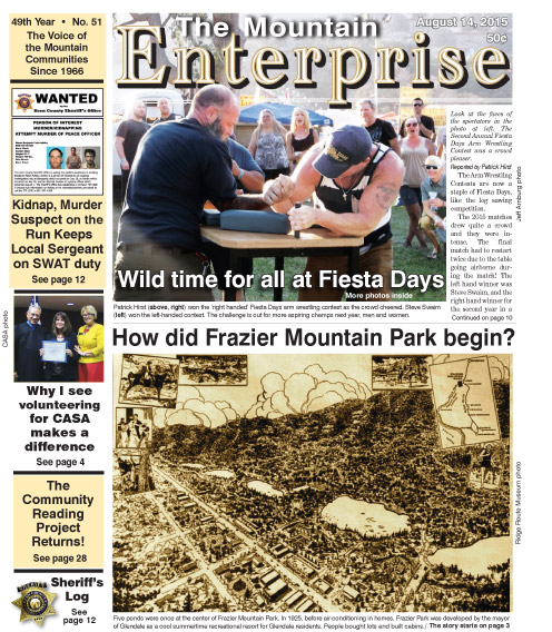 The Mountain Enterprise August 14, 2015 Edition