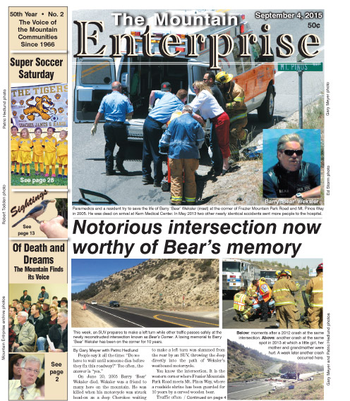 The Mountain Enterprise September 4, 2015 Edition