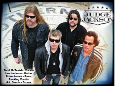 Todd McTavish-Vocals, Lee Jackson-Guitar, Brian James-Bass and Backing Vocals, J.J. Garcia-Drums
