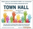 Save the Date: COMMUNITY HEALTH CARE TOWN HALL, JULY 26, 7 p.m.