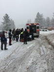 Snow and road conditions in the Mountain Communities