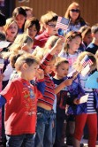 Flags dance for veterans