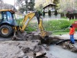 Leaking water line on Los Padres Drive in Frazier Park fixed