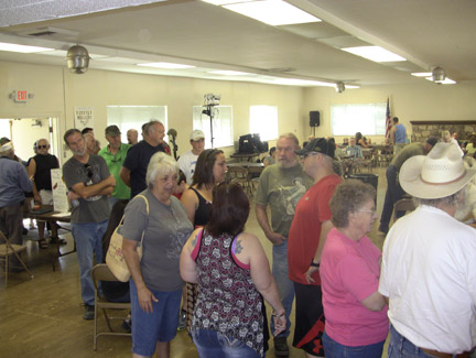 Don't miss Sunday morning's Pancake Breakfast, put on by VFW Post 9791. [photo by Gary Meyer]