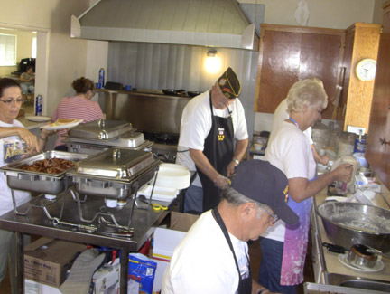 The VFW Post 9791 Pancake Breakfast now features omelets. Sunday morning the breakfast starts at 7 a.m. [photo by Gary Meyer]