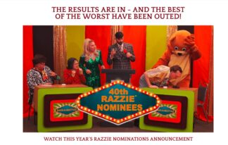 The results are in, and the best of the worst have been outed. See the whole roster of Golden Raspberry nominees on video (see hotlink at left). Click on image to enlarge