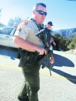 Swat stand-off Alarms Mountain