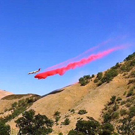 [photo by Lebec resident Kevin McDonnell]