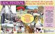 Lilac Festival — May 16-17 — It's a carnival, it's a parade, it's way too much fun to miss!