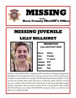 LOCATED—Please help locate this missing juvenile, Lilly Hillairet of PMC