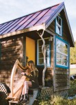 Piñon Pines' Tiny House harpist shimmers into town for concerts