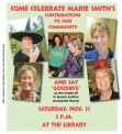 Saturday, Nov. 11 at 3 p.m. — at the library