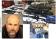 Wolf dog rescue co-founder arrested as felon building arsenal in Lockwood Valley