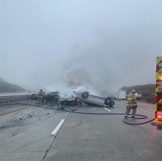 INCIDENT CLEARED—ALL LANES OPEN—Collisions involving 40 to 50