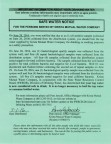 Safe Water Notice issued by Krista Water company for Los Padres Estates