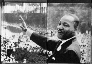 "Martin Luther King, Jr. gave his famous ""I Have a Dream"" speech at the Lincoln Memorial in Washington, D.C."