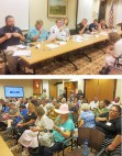 Jam-packed Health Care Town Hall quizzes executives on X-rays, Clinica changes, emergency response times and much more