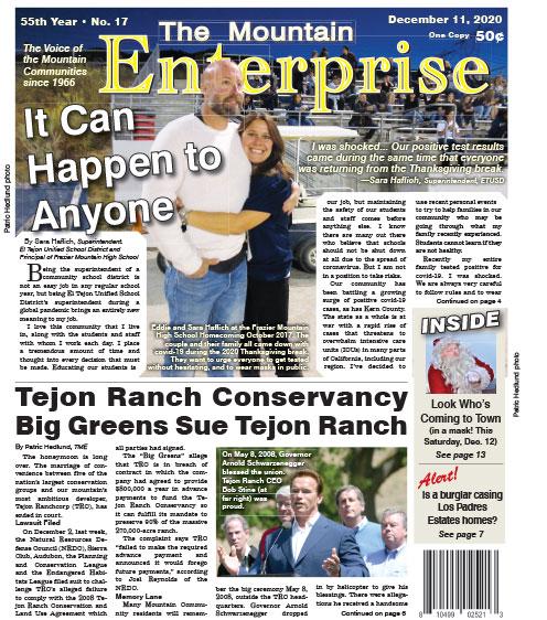 The Mountain Enterprise December 11, 2020 Edition