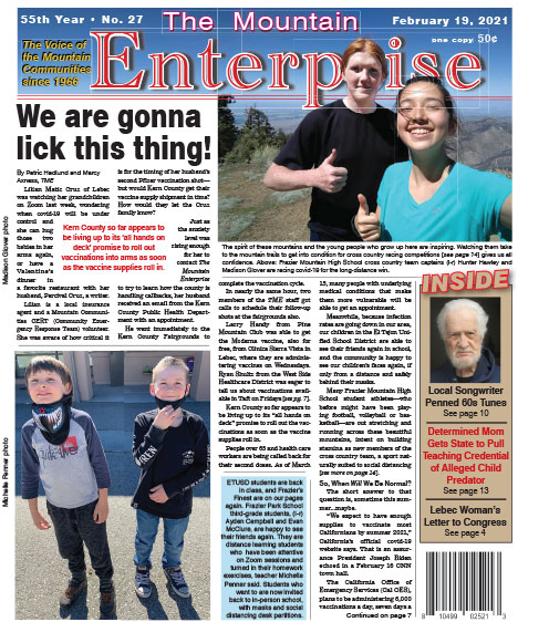 The Mountain Enterprise February 19, 2021 Edition