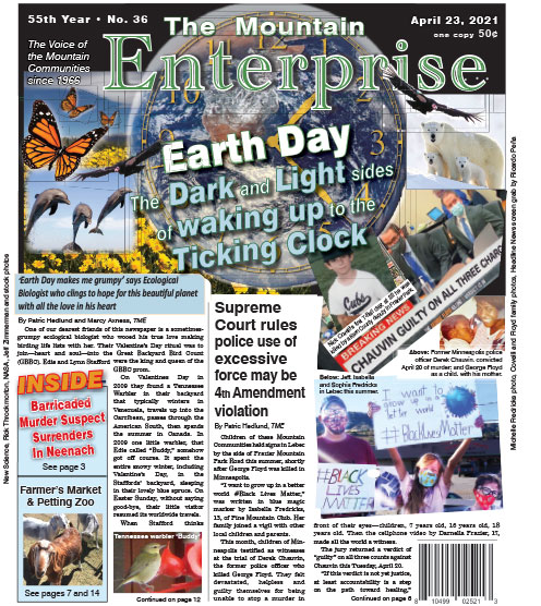 The Mountain Enterprise April 23, 2021 Edition