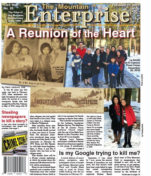 The Mountain Enterprise February 15, 2019 Edition