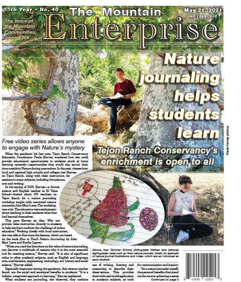 The Mountain Enterprise May 21, 2021 Edition
