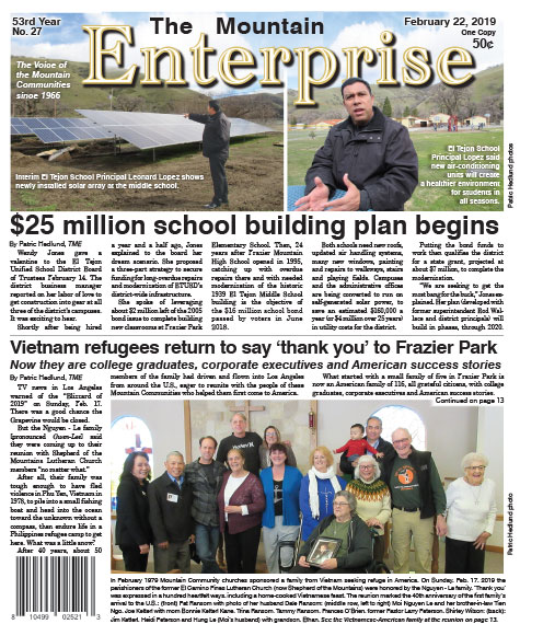 The Mountain Enterprise February 22, 2019 Edition