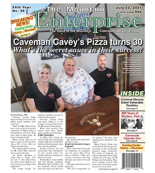 The Mountain Enterprise July 23, 2021 Edition
