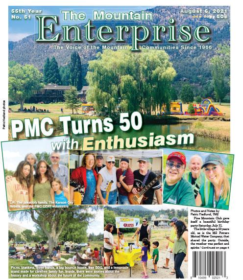 The Mountain Enterprise August 6, 2021 Edition