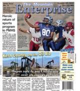 The Mountain Enterprise August 27, 2021 Edition