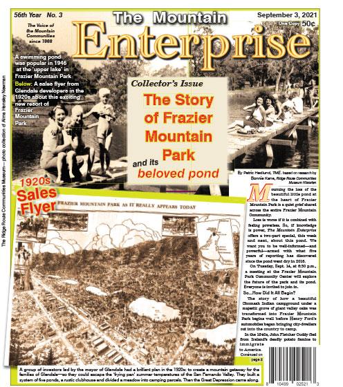 The Mountain Enterprise September 3, 2021 Edition