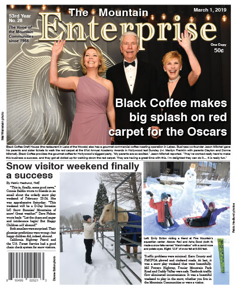 The Mountain Enterprise March 1, 2019 Edition