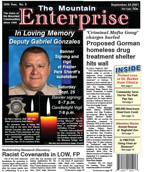 The Mountain Enterprise September 24, 2021 Edition