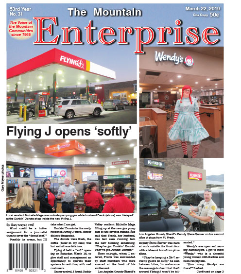 The Mountain Enterprise March 22, 2019 Edition