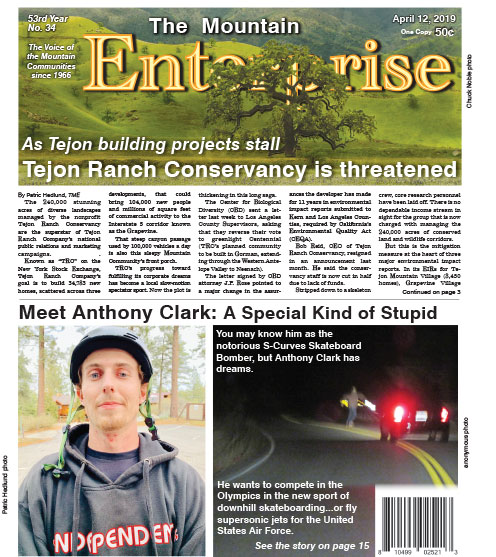 The Mountain Enterprise April 12, 2019 Edition