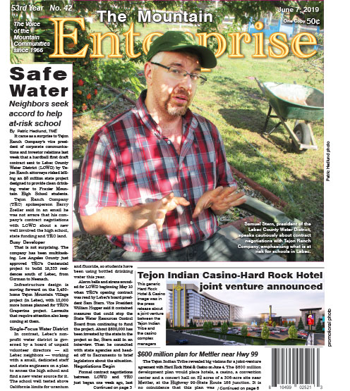 The Mountain Enterprise June 7, 2019 Edition
