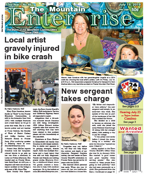 The Mountain Enterprise July 19, 2019 Edition