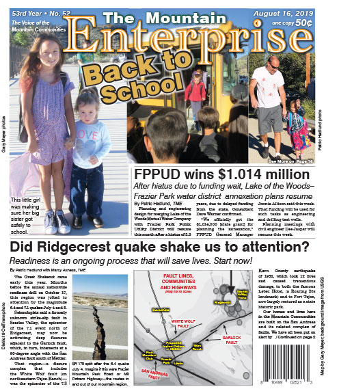 The Mountain Enterprise August 16, 2019 Edition