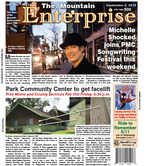 The Mountain Enterprise September 6, 2019 Edition