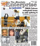 The Mountain Enterprise October 4, 2019 Edition