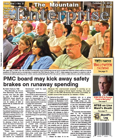 The Mountain Enterprise October 18, 2019 Edition