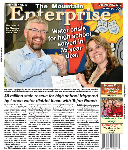 The Mountain Enterprise December 20, 2019 Edition